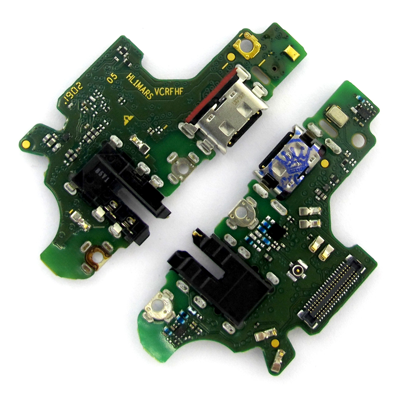 Charging Port Connector Board Parts USB Flex Cable For HuaWei P30 Lite P30Lite With Microphone Mic Repair Part