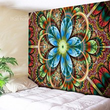 Indian Mandala Tapestry Wall Hanging Dorm Decor Wall Sheet Multi Color Large Flower Wall Tapestry Boho