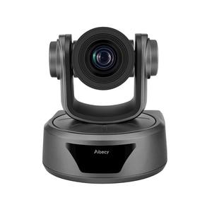 Image 2 - Aibecy Video konferans kamerası 3X isteğe bağlı Zoom kamera kamerası Full HD 1080P desteği 95 derece geniş görüş otomatik USB uzaktan kontrol