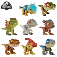 Original Jurassic World Dinosaur Toy Action Figure Minifingers Move Joints Toys for Boy Child Gift Anime Figure Model Collection