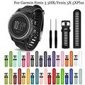 26 мм цветной силиконовый ремешок для наручных часов для спорта на открытом воздухе, сменный Браслет для часов Garmin Fenix 3 3HR