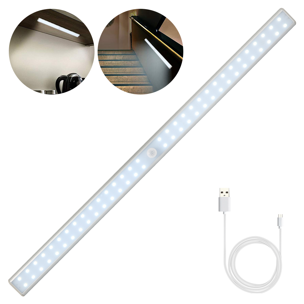 LED lumières rechargeables USB applique lampe à LED Tube placard veilleuse armoire cuisine éclairage