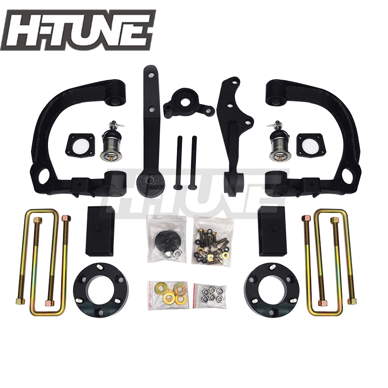 H-TUNE 4x4 Accesorios 2005-2016 Hilux Vigo 3 pouces bras de suspension Diff Drop Kits