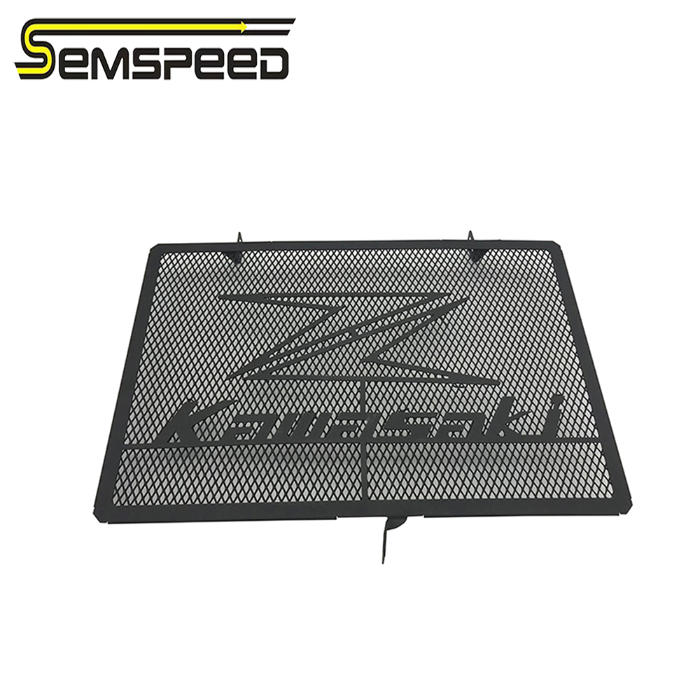 Stainless Steel Motorcycle Radiator Grille Guard Cover Protector For <font><b>Kawasaki</b></font> Z750 Z800 ZR800 Z1000 <font><b>Z1000SX</b></font> 2013-2018 <font><b>2019</b></font> 2020 image