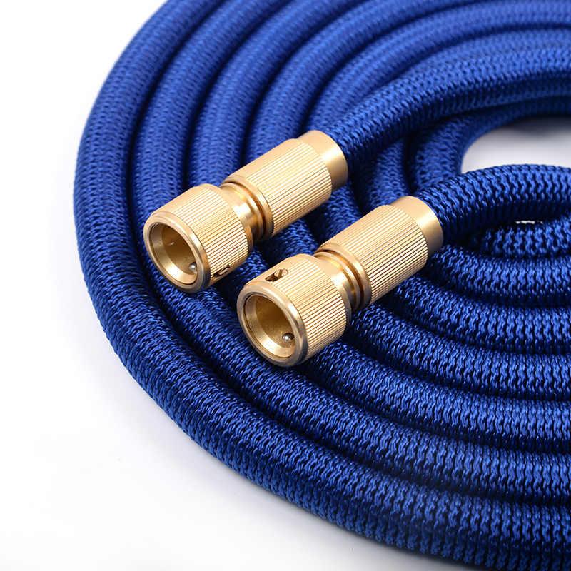 17FT-125FT קסם להרחבה צינור גינה השקיה צינור 5m - 37.5m גמיש נשלף צינור השקיה צינור עבור קצף זרבובית