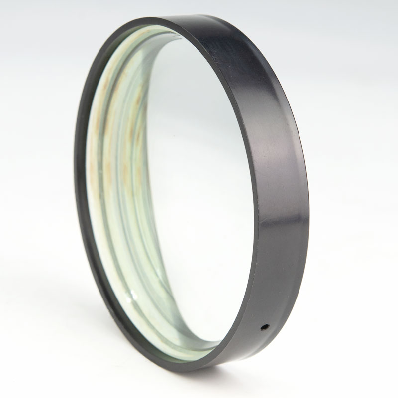 Optická skleněná ohnisková vzdálenost 2ks 100 mm Ohnisková - Měřicí přístroje - Fotografie 1