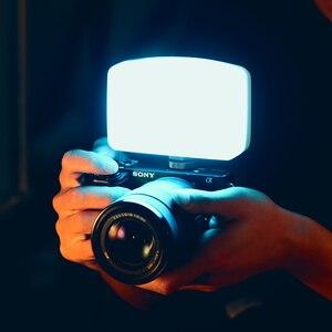 Image 2 - Vijim VL120 3200K 6500K LED Video DSLR kamera için ışık yumuşak ışık ile kutusu RGB renk filtresi soğuk ayakkabı cep dolgu ışığı