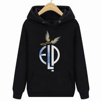 Emerson, Lake And Palmer Halo And Angel Wing Hoodies Sweatshirts, ELP, Greg Lake, Sizes S 3XL