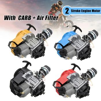Motor de 2 tiempos, 49cc, para Motor de transmisión, filtro de aire, Mini bolsillo, Pit Quad Dirt Bike ATV 4 ruedas