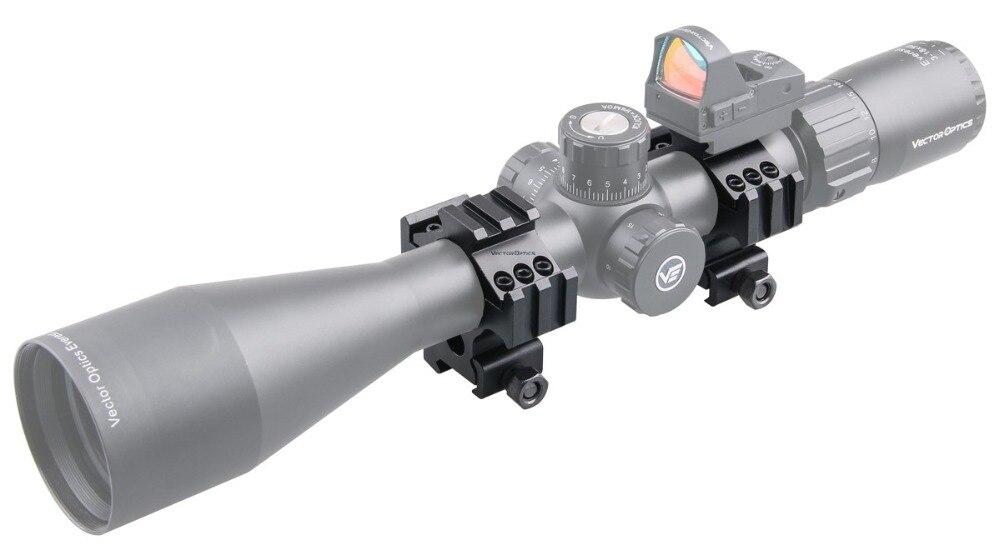 30mm Tactical Triple Rails Picatinny Mount Acom 4