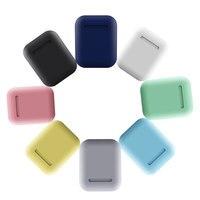 Mgoman inpods 12 אוזניות אלחוטי i12 tws אוזניות Macaron 12 inpods 12 i12 tws אוזניות עבור טלפון חכם S6 אוזניות ספורט S6-באוזניות ודיבוריות Bluetooth מתוך מוצרי אלקטרוניקה לצרכנים באתר