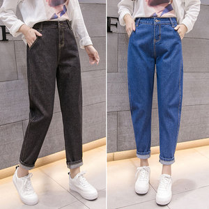 Image 4 - Jeans Women High Waist Pencil Pant Demin Zipper Fly Womens Bottoms Trousers Simple All match High Quality Spring Daily Pockets