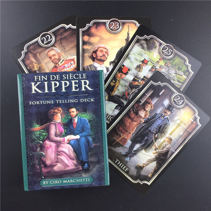 Fin Sieve Kipper Tarot Cards Guidance Divination Fate Tarot Deck Board Games English For Family Gift Party Playing Game