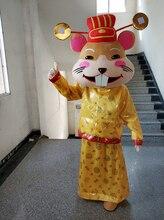 Fare maskot kostüm Cosplay parti oyunu elbise kıyafet reklam yeni yıl cadılar bayramı yetişkin karakter açık maskot