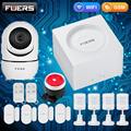 Home Alarm System FUERS G95 Tuya APP Control Wireless WiFi GSM Features Voice Broadcast Language Switched Smart Home System