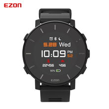 Digital Watch Wrist-Based-Heart-Rate-Monitor Marathon EZON Running Smart Mens T935 GPS