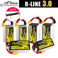 Tattu r-line versione 3.0 V3 1300/1400/1550/1800/2000mAh 120C 4s 6S 4.2V batteria Lipo XT60 spina FPV Racing Drone RC Quadcopter
