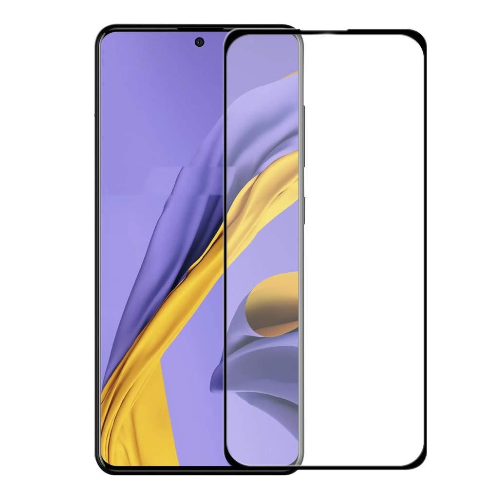 9H 2.5D cubierta completa de vidrio templado para Galaxy A51 SM-515F Protector de pantalla de vidrio Protector para Samsung Galaxy A71 SM-715F 5G Artesanías de cristal personalizadas en miniatura con forma de corazón romántico, regalos de amor, accesorios de decoración para el hogar DIY