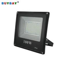 BUYBAY 50w 100w Светодиодный прожектор светильник 220V 240V 30 Вт 200 Вт напольный светильник ing проектор лампа с отражателем светодиодный 50 Вт внешний точечный светодиодный exterieur