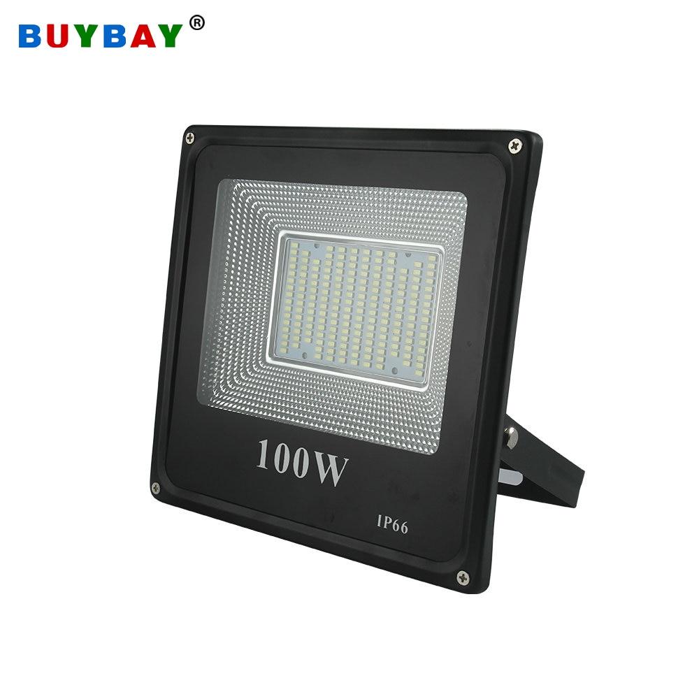 BUYBAY 50w 100w LED projektör 220V 240V 30w 200w Dış Aydınlatma Projektör Reflektör lambası led 50w dış spot led exterieur