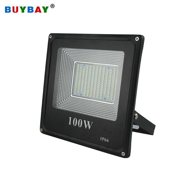 BUYBAY LED מבול אור 220V 240V 30W 50W 100W 200W תאורה חיצונית מקרן רפלקטור led חיצוני זרקור led exterieur
