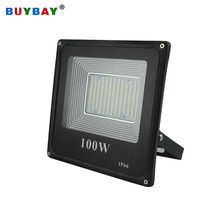 BUYBAY LED Flood Light 220V 240V 30W 50W 100W 200W Outdoor Lighting Projector Reflector Led exterior Spotlight led exterieur