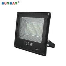 Buybay ledフラッドライト 220v 240v 30 ワット 50 ワット 100 ワット 200 ワット屋外照明プロジェクターリフレクターledスポットライトledエクステリア