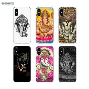 Para Xiaomi mi 4I 4C mi x 2S Max rojo mi S2 2 3 3 4 4 S 16G 5 Plus 6 Pro 32G 4A 5A 6A 4X funda de silicona Ganesha India patrón de Buda arte