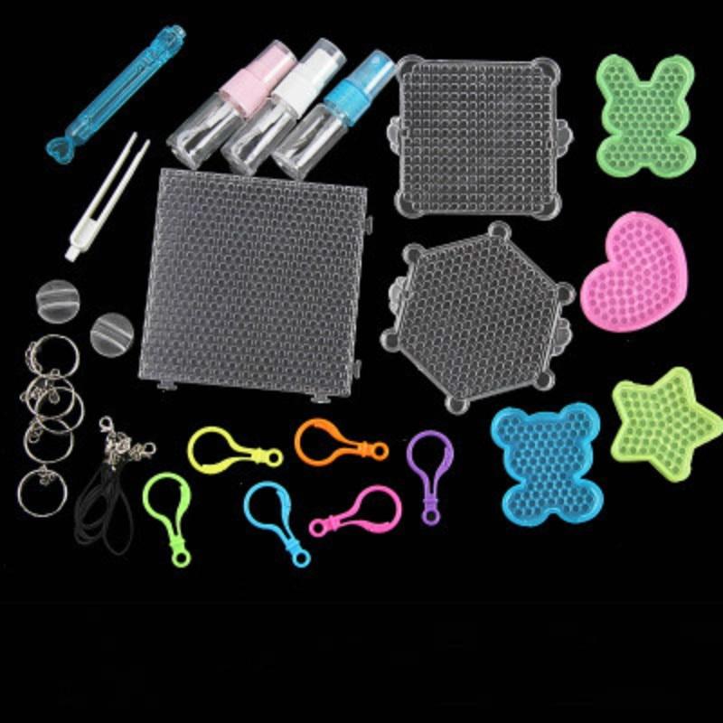 Toys For Children Boys Girls Teen Rainbow Loom Kids Magic Puzzle Beads Diy Pearl Water Spray Magic Pixels Bead Christmas Gift
