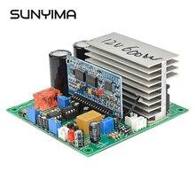 SUNYIMA czysta fala sinusoidalna przemiennik częstotliwości 12V 24V 36V 48V 60V 600/1000/1500/1800/2000W gotowa płyta dla majsterkowiczów
