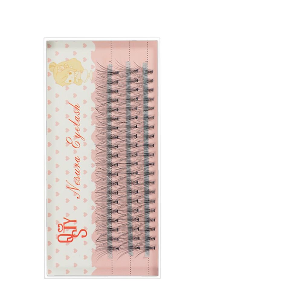 1 Case Eyelash Extensions Mink Black Fake False Eyelashes 0.07 C Curl Natural Eye Grafting  Lashes Makeup Individual