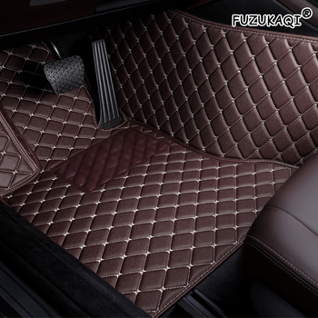 FUZHKAQI Auto car floor Foot mat For skoda superb 2017 3 kodiaq yeti octavia rs 1 fabia 3 karoq rapid 2017 car accessories image