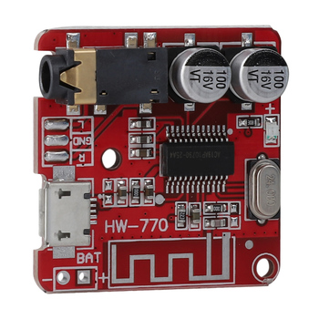 MP3 BT 4.1 Audio Amplifier Module Lossless Decoder Board Car Speaker Amplifier Board Stereo Board​ image