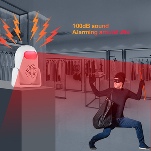 Image 3 - Towode الذكية كاشف حركة ترحيب و إنذار كاشف حركة عدة الأشعة تحت الحمراء مكافحة سرقة كاشف حركة نظام إنذار أمان المنزل