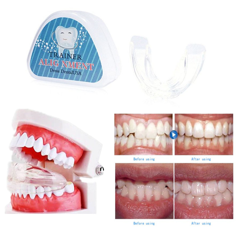 Dental Tooth Orthodontic Appliance Trainer for Adults Alignment Braces 3 Phases Teeth Trainer Whitening Tools