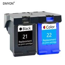 DMYON Ink Cartridge Compatible for Hp 21 22 DeskJet D1311 D1320 D1330 D1341 D1360 D1368 D1415 D1420 D1430 3910 3915 3920 Printer for hp 15 78 ink cartridge for hp deskjet 845c 920c 810c 812c 816c 817c 825c 840c 3920 printer ink for hp15 c6615a c6578a