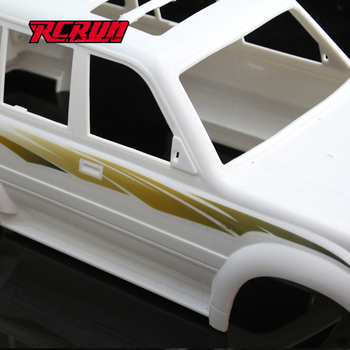 Toy Car 1:10 Pull Flower Sticker On Car Body Shell For Rc Car Land Cruiser LC80 Cherokee SCX10 II 90046 etc. image