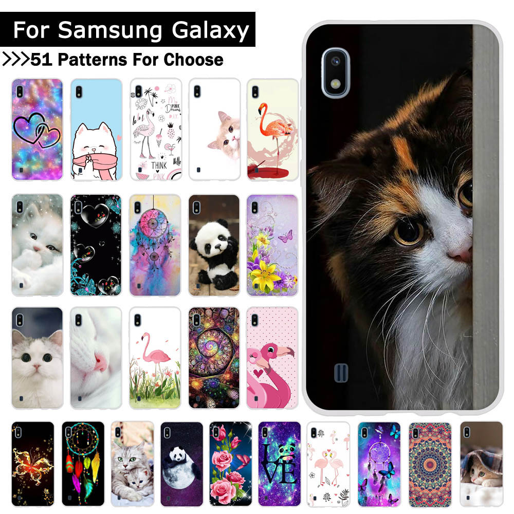 For Samsung Galaxy A10 A20 A30 A40 A50 A70 Phone Case Soft Silicone TPU Cases Back Phone Covers Coque Fundas for Samsung A10