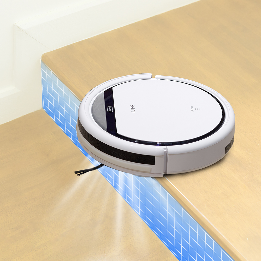 ILIFE V3s Pro Robot Vacuum Cleaner Home Household Professional Sweeping Machine for Pet hair Anti Collision Automatic Recharge 6