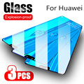 3 шт Защита экрана для Huawei Y9 Y 9 2019 закаленное стекло для Huawei Y5 Y 5 Y6 Y 6 Pro Y7 Y 7 Prime Y9 Prime 2019 стеклянная пленка