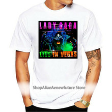 New Lady Gaga Tour 2021-2021 ENIGMA Live In Vegas Black T-Shirt Size S To XL