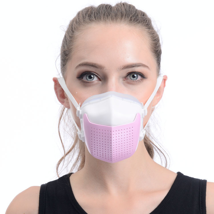 Electric Haze Mask, Electronic Dust Mask, Except PM2.5 Electronic Sports Charging Mask Air Cleaner  Portable Air Purifier