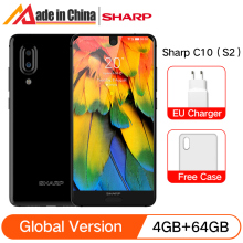 Sharp Snapdragon 630 AQUOS C10 S2 64GB 4gbb LTE NFC Octa Core Fingerprint Recognition