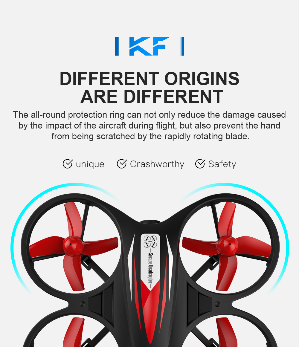 KF608 Mini Drone 720p HD With  Camera Wifi Aerial Stabilized Altitude 3D Flip Headless Mode RC Quadcopter Profesional Drones Toy