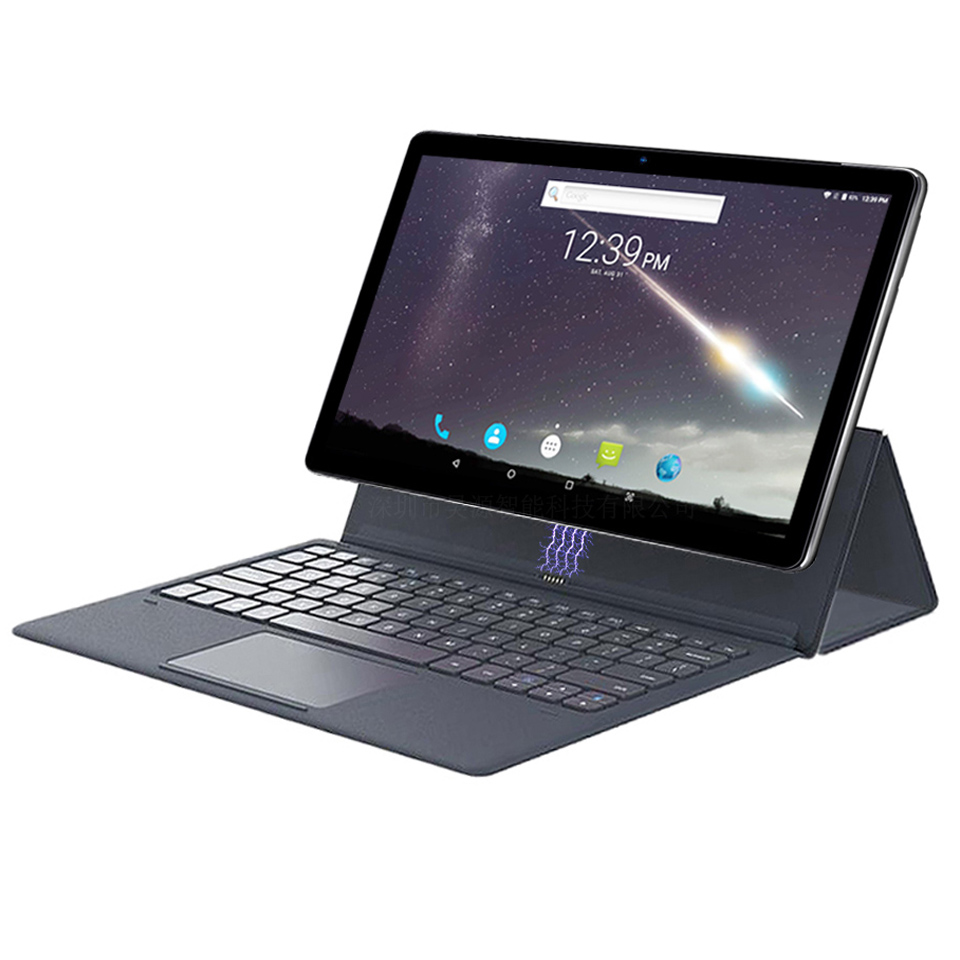 Google Play  2 In 1 Tablet Laptop 11.6 Inch Android  Tablet Pc HD Camera 13.0mp Deca Core Mtk6797 1920*1080 With Keyboard Tab