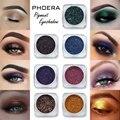 PHOERA 12 цветов блестящие тени для век Палитра мерцающие стойкие пигментные водостойкие тени для век макияж пудра TSLM2