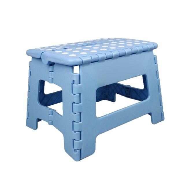 пластмассовый складной стул складное сиденье сгущенный шаг портативный фотография