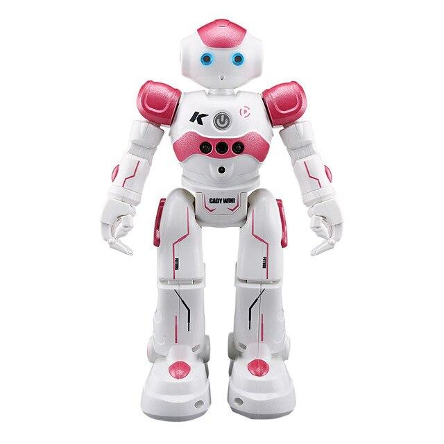 كادي-روبوت ذكي يعمل بالتحكم عن بعد مع جهاز تحكم عن بعد ويسو ، لعبة إلكترونية ، إيماءات ، حساس يعمل باللمس ، لعبة رقص ذكية للأطفال 3