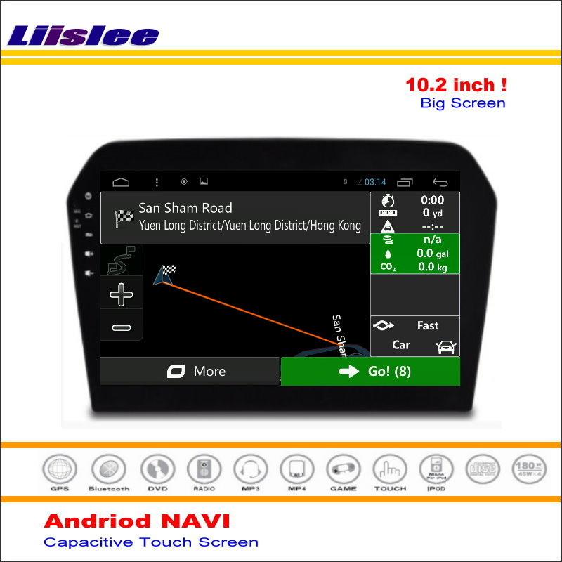 Liislee Car Android Media GPS Navigation System For Volkswagen <font><b>VW</b></font> <font><b>Jetta</b></font> 2013~2016 Radio Audio Video Multimedia ( No DVD Player image