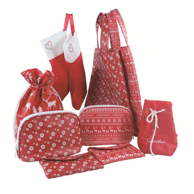 Christmas Purse Christmas Backpack 2018 Christmas Small Gifts Trim Bags Wallet Processing Bag